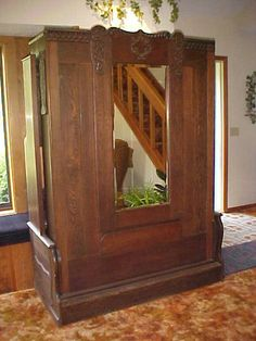 who would have thought this is a murphy bed? | vintage murphy beds