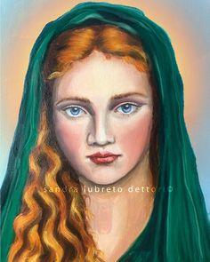 Catholic Art, Catholic Saints, Religious Art, St Agnes, Canon Ink, Sacred Art, Ink Color, Artwork, Prints