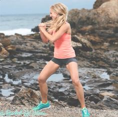 Beach Babe: Erica Ziel of Knocked-Up Fitness. Pre and post natal exercise programs