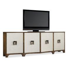 """Hooker Furniture Melange TV Stand Perigold, 90"""", $2,500"""
