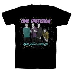 One Direction - On the Road Again Tour 2015 Black T-Shirt - Small WAAAAANT