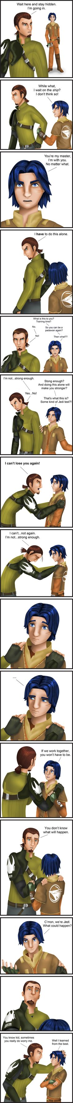 Star Wars Rebels - I Can't Lose You Again by Dawnchaser.deviantart.com on @DeviantArt