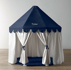 Pavilion Play Tent, Navy contemporary kids products