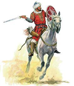 Syrian Arab Cavalryman Saladin S Army 1187