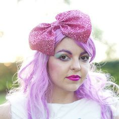 Bought - XXL Glitter Hair Bow