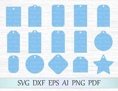 Gift Tags SVG Graphic by MagicArtLab middot Creative Fabrica Free Svg Files Monogram, Cricut Monogram, Free Monogram, Free Svg Cut Files, Monogram Fonts, Cricut Tags, Cricut Vinyl, Svg Files For Cricut, Laser Cut Files