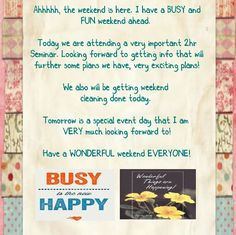 1/30 #weekend, #getthingsdone, #soblessed, #busylife