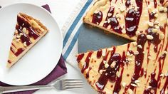 Creamy and delicious cheesecake baked with traditional PB&J flavors in a Cinnamon Toast Crunch™ crust!