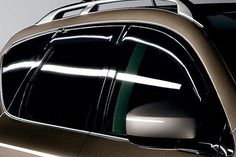 £50 - NISSAN MURANO 2005 2007 DARK SMOKE FRONT AND REAR WIND DEFLECTORS in Vehicle Parts & Accessories, Car Tuning & Styling, Body & Exterior Styling | eBay