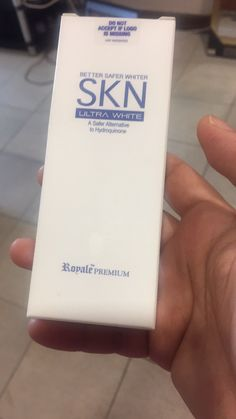 Premium SKN ultra white: for mature skin and safe for all skin type, visibly lightens skin tone within a week.
