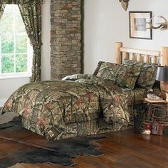 Mossy Oak Break Up Infinity Camouflage Twin Comforter Set