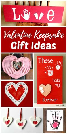 DIY Valentine keepsake gifts add that special homemade touch perfect for any occasion. This collection of gift ideas for kids to make for friends and family are perfect for Mother\'s Day, Father\'s Day, Christmas, and birthdays too! Mom, Dad, grandparents,  (handmade christmas presents for kids) #christmasideasforkids