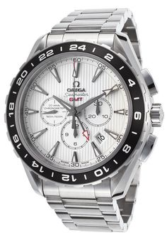 Omega 231.10.44.52.04.001 Men's Sea Master Aqua Terra GMT Auto Chrono SS #Omega #Luxury