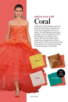 Image result for instyle what to wear with every color