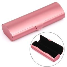 Slim Metal Reading Glasses Case Eyeglasses Box Spectacles Protector Beauty New