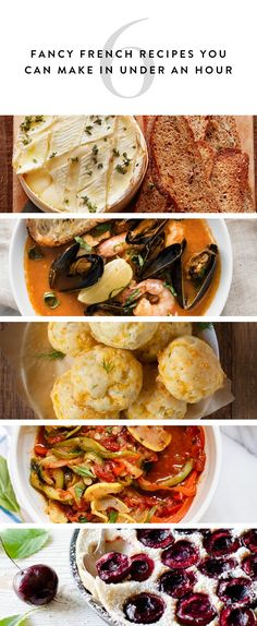 16 Fancy French Recipes You Can Make in Under an Hour #purewow #cooking #recipe #food