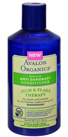 Avalon Active Organics Conditioner Anti Dandruff