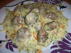 Żołądki z indyka w pysznym sosie Polish Recipes, Polish Food, Food And Drink, Chicken, Meat, Dinner, Cooking, Breakfast, Mario
