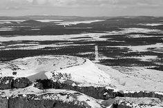 From: Top of Luossavaara, Kiruna, Sweden
