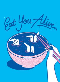 Eat You Alive on Behance
