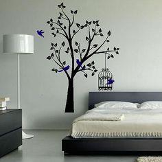 50 Desain Hiasan Dinding Kamar Tidur Kreatif Sederhana | Desainrumahnya.com