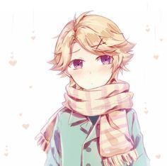 Why you are sooooooo cute!!! ><