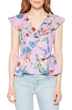 Women's Parker Manny Floral Top, Size X-Large - Pink Fashion 2020, Girl Fashion, Fashion Outfits, Blouse Styles, Blouse Designs, Frock Design, Pattern Fashion, Floral Tops, Floral Blouse