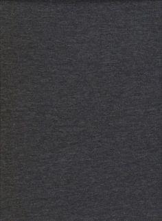 CHARCOAL  Cotton Lycra Jersey Knit