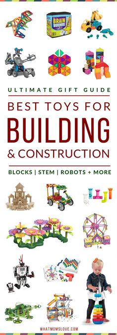 Best Building Toys For Kids   Gift Ideas For Kids Who Like To Build & Put Things Together   Best STEM Toys For Kids