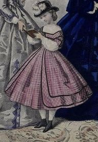 1860 dresses for girls - Google Search