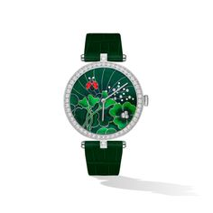 Lady Arpels Day and Night Coccinelles Watch. Patek Philippe, Audemars Piguet, Chanel, Expensive Watches, Van Cleef Arpels, Precious Moments, Luxury Watches, Lady, Jewelry Watches