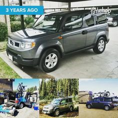 T2 turns 3 today! We've acquired a few scars and a bunch of stories together since he first came home... #Traveler #Wander #wanderlust #HomeIsWhereYouParkIt @honda @honda_element #honda #inmyelement #roadtrip #timehop #TinyHouse #DoWhatYouLove