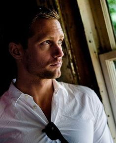 "Alexander Skarsgard -- he would play JULIAN in my novel ""Maybe Baby"""