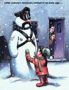 Apologise, but, Christmas bondage cartoons thank