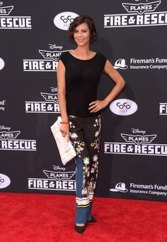 Catherine Bell Photos - Actress Catherine Bell attends the premiere of Disney's 'Planes: Fire & Rescue' at the El Capitan Theatre on July 15, 2014 in Hollywood, California. - 'Planes: Fire & Rescue' Premieres in Hollywood — Part 2