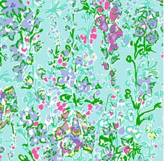 Lilly Pulitzer Pool Blue Southern Charm. Spring 2014