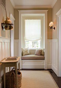 Hall Window Seat View
