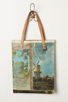 Still Life Bag, Windmills  by Leslie Oschmann for Swarm