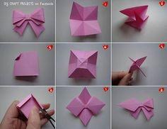 mono hecho de origami