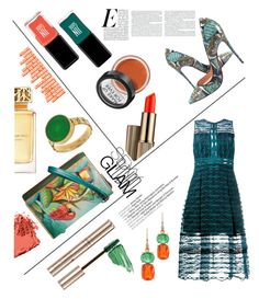 """""""Untitled #127"""" by amltra ❤ liked on Polyvore featuring Jonathan Simkhai, By Terry, Christian Louboutin, Estée Lauder, Irene Neuwirth, MAKE UP FOR EVER, Bobbi Brown Cosmetics, Anuschka, JINsoon and Tory Burch"""
