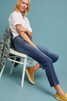 b9fa066fcf Slide View  5  Pilcro High-Rise Relaxed Straight Jeans. Lani · Clothes