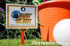 Skylander Birthday Party - Skylanders Party Games