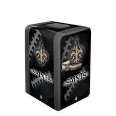 NFL New Orleans Saints Portable Party Refrigerator « Blast Gifts