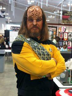 Star Trek TNG - Lt. Worf - Jeff Lester