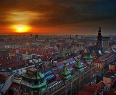 Gorgeous sun in Poland