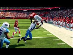 Madden 25 - Jamaal Charles Hurdled Too Early Got Flipped