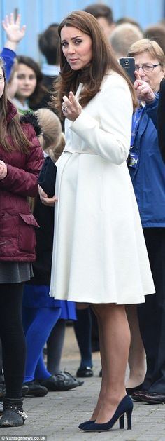 """""""You really think they're taking OUR picture, darling? How adorable you are."""" #katemiddleton #katefestdotcom"""