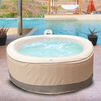 Bp5805 Grand Oasis 72 In 5 Person Foam Wall Portable Spa