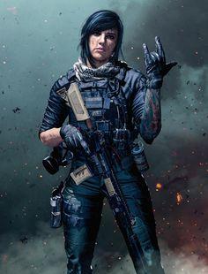 Modern Warfare(2019) Mara by LordHayabusa357 on DeviantArt