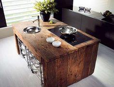 Kitchen island idea.